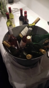 Lots of wine.....