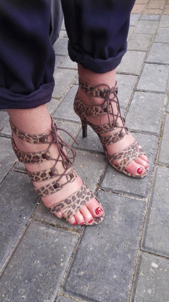 tigerprint sandals